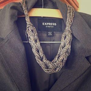 Express Stretch Women's Career Blazer Jacket.